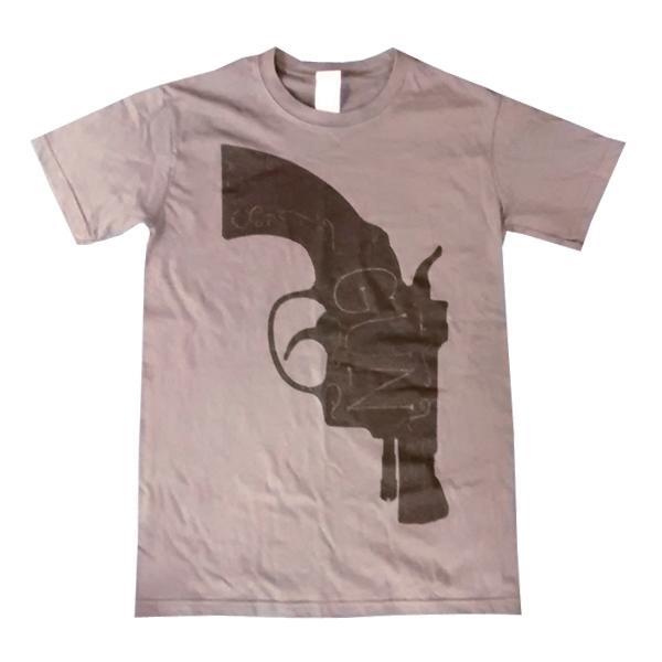 Buy Online Gun - Grey Pistol T-Shirt