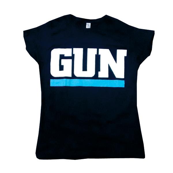 Buy Online Gun - Blue Underline Gun T-Shirt