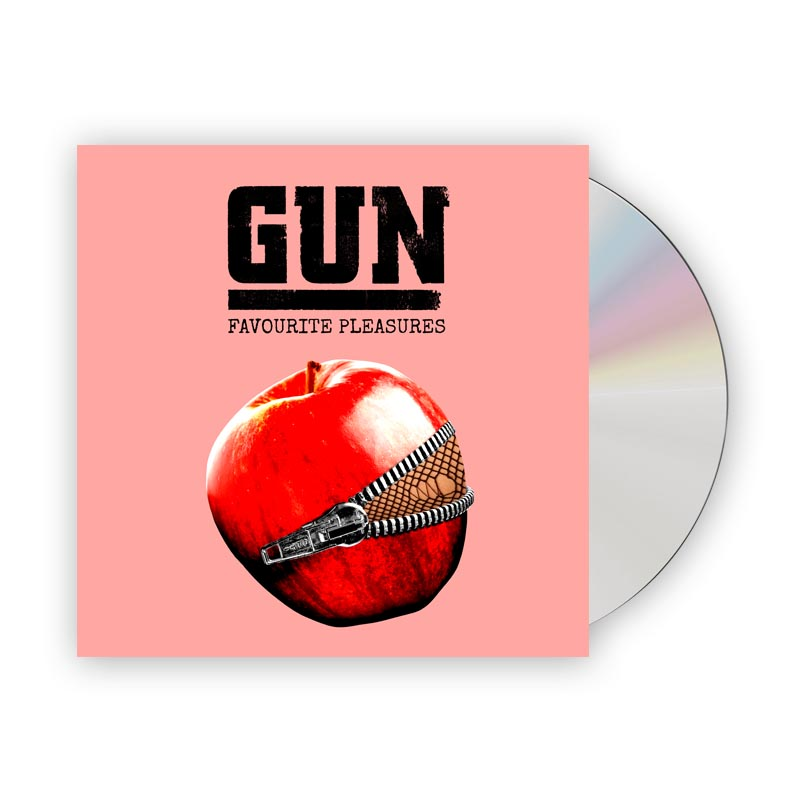 Buy Online Gun - Favourite Pleasures Deluxe Digipak CD Album (w/ 16-Page Booklet + Bonus Tracks)