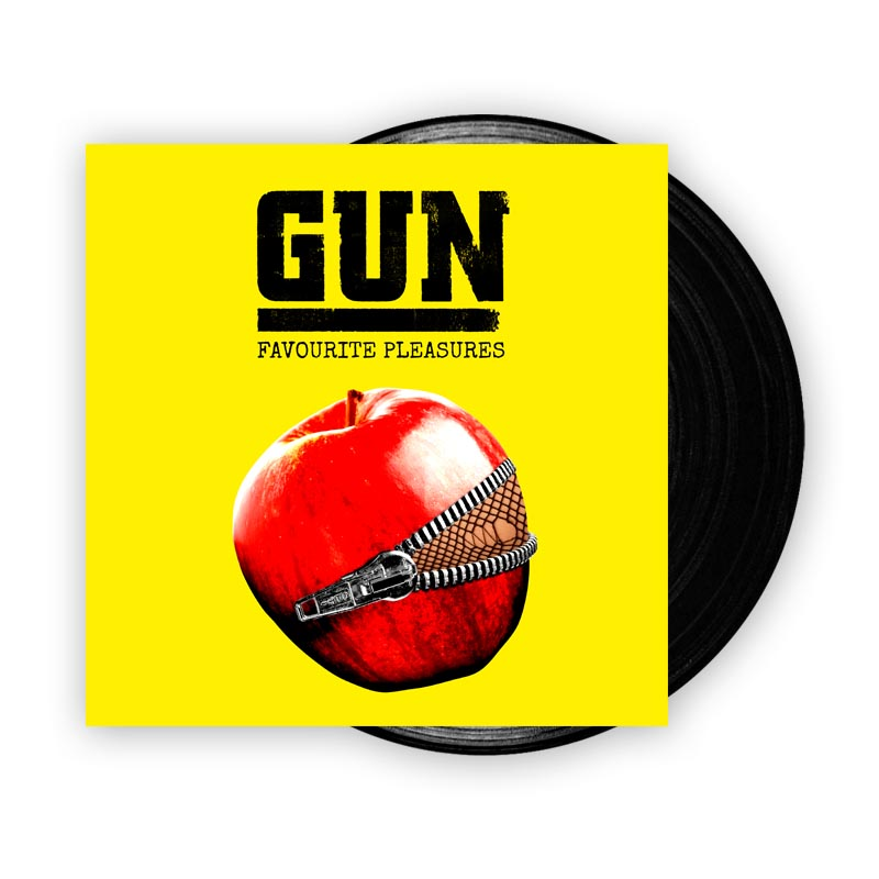 Buy Online Gun - Favourite Pleasures (w/ Download Card) (Signed)