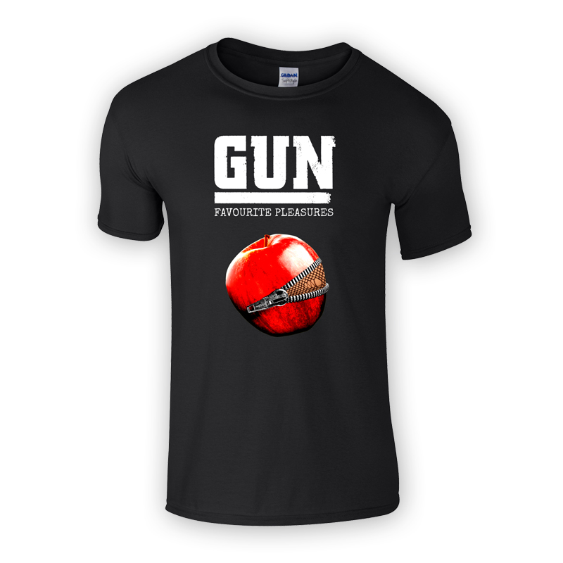 Buy Online Gun - Favourite Pleasures Black T-Shirt