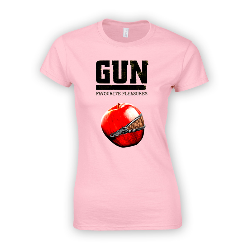 Buy Online Gun - Favourite Pleasures Pink Ladies T-Shirt