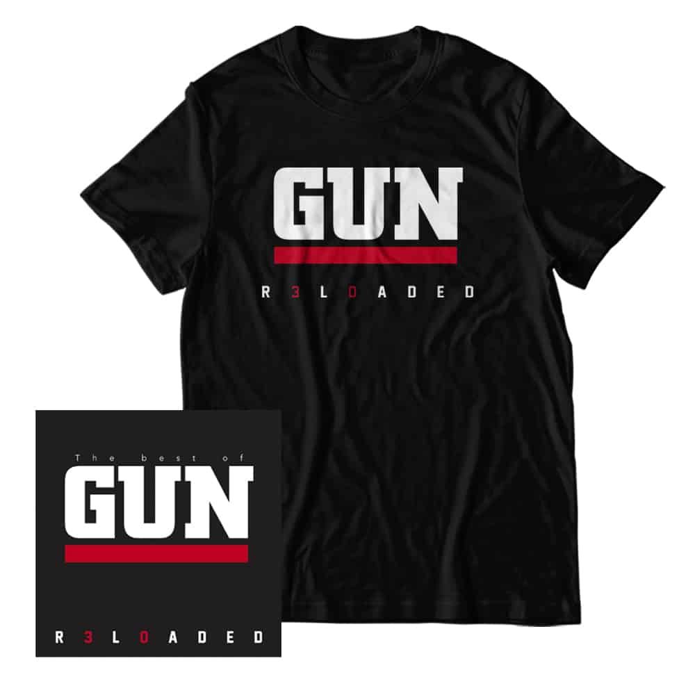 Buy Online Gun - R3L0ADED 2CD Album + T-Shirt