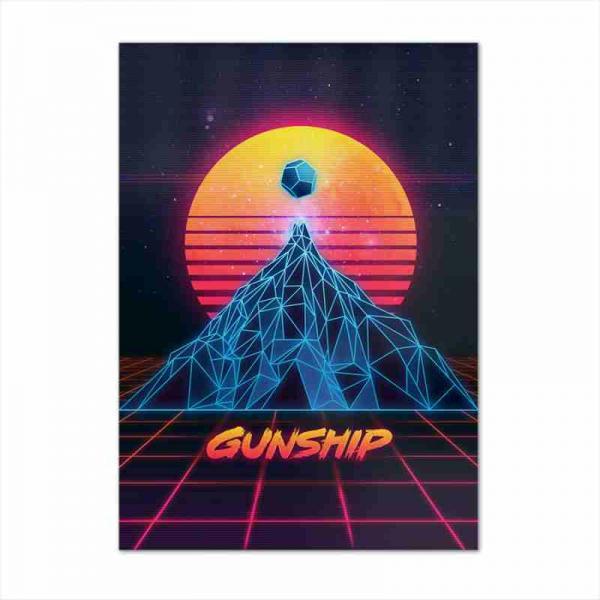 Buy Online GUNSHIP - Gunship A2 Album Poster