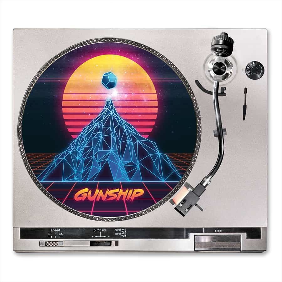 Buy Online GUNSHIP - Album Turntable Slipmat