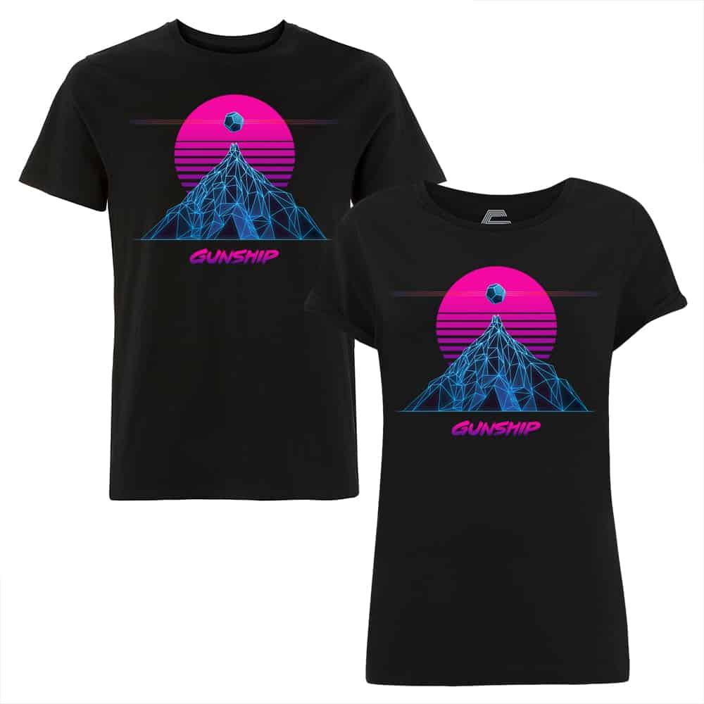 Buy Online GUNSHIP - Neon Sun T-Shirt