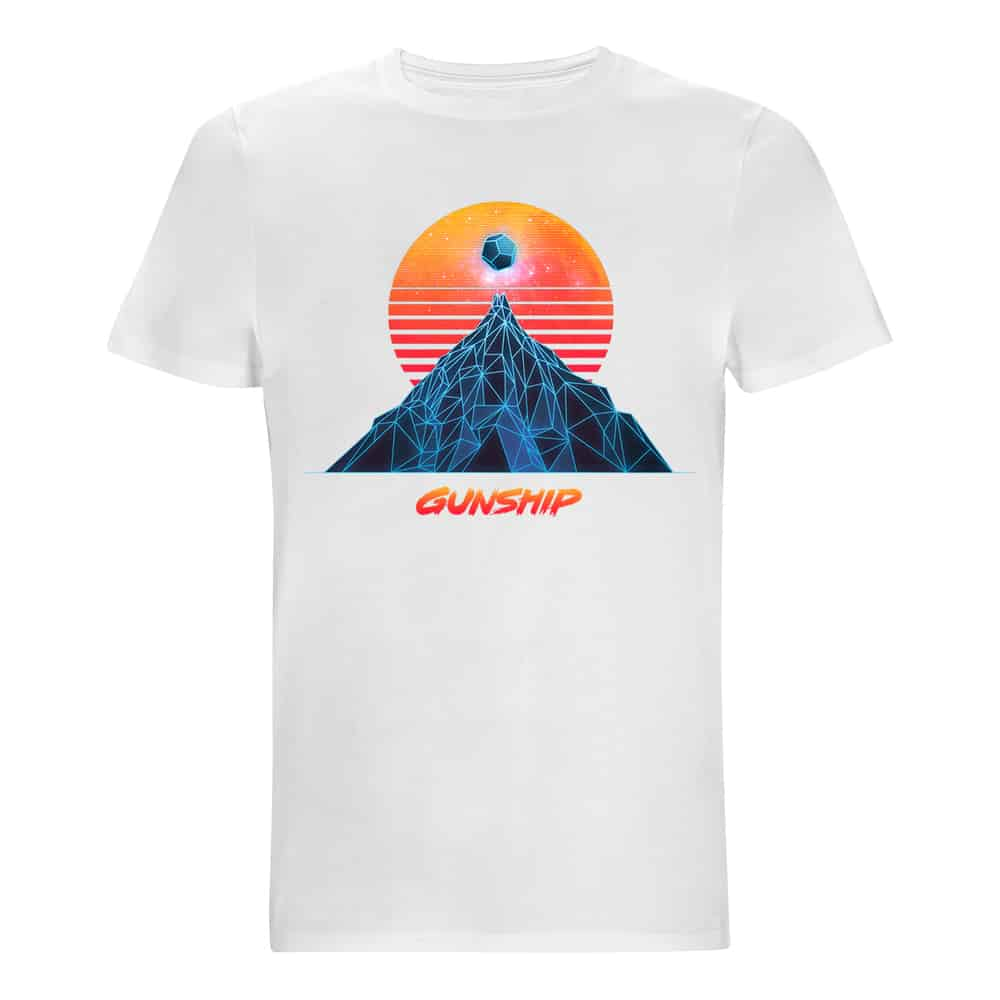 Buy Online GUNSHIP - Sun & Mountain T-Shirt