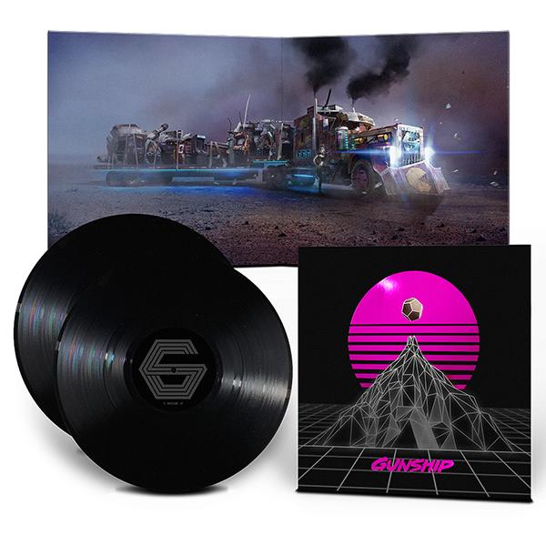 Buy Online GUNSHIP - Gunship Black Edition Vinyl