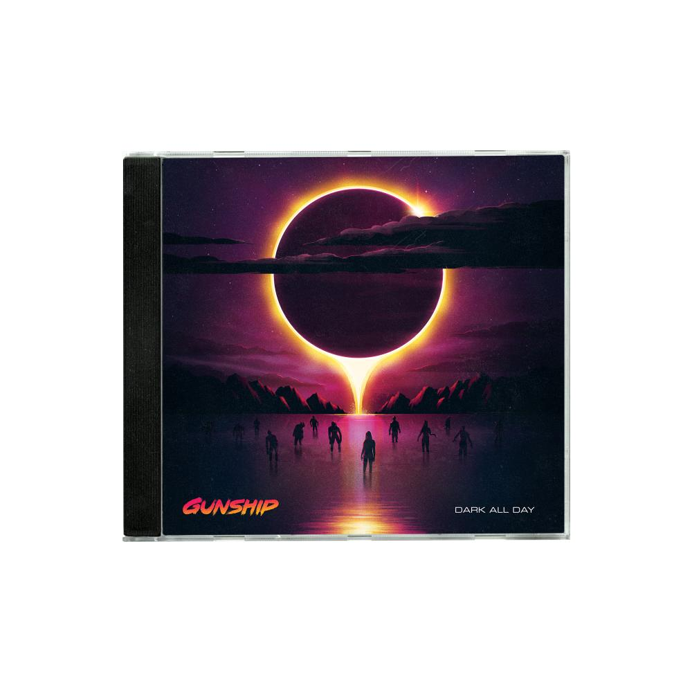 Buy Online GUNSHIP - Dark All Day CD (Signed)