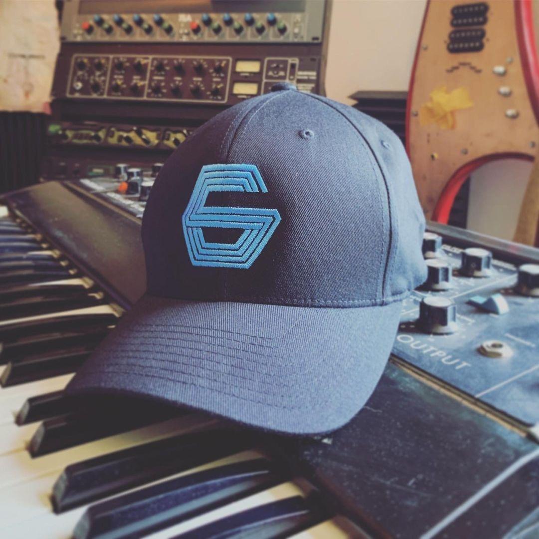 Buy Online GUNSHIP - Blue Logo Cap