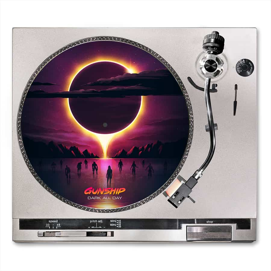 Buy Online GUNSHIP - Dark All Day Turntable Slipmat