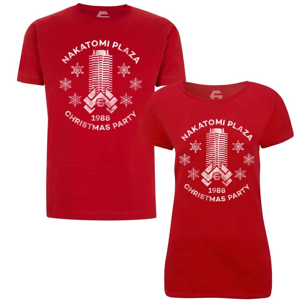 20a527585 GUNSHIP - Nakatomi Plaza 1988 Christmas Party T-Shirt - TM Stores