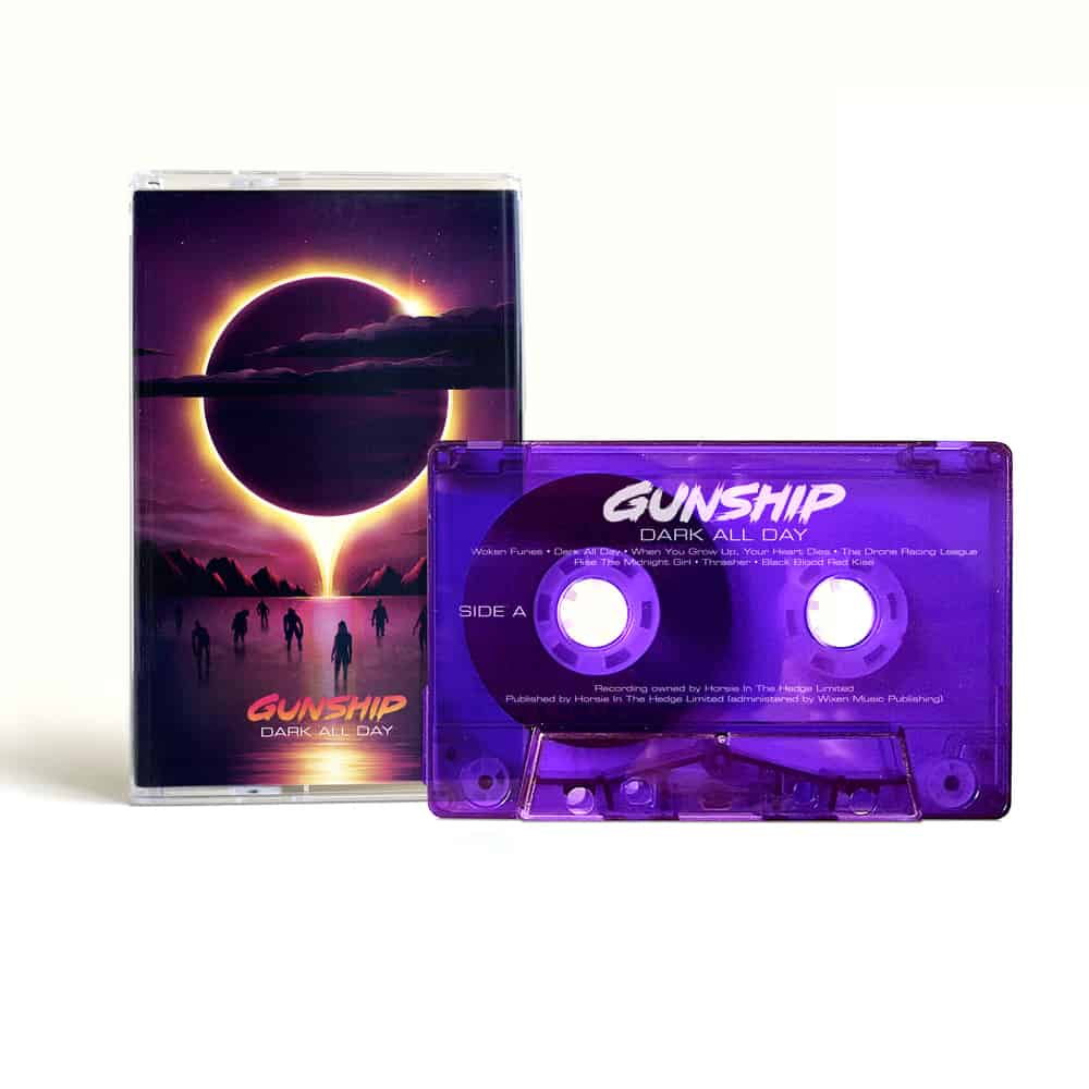 Buy Online GUNSHIP - Dark All Day Cassette