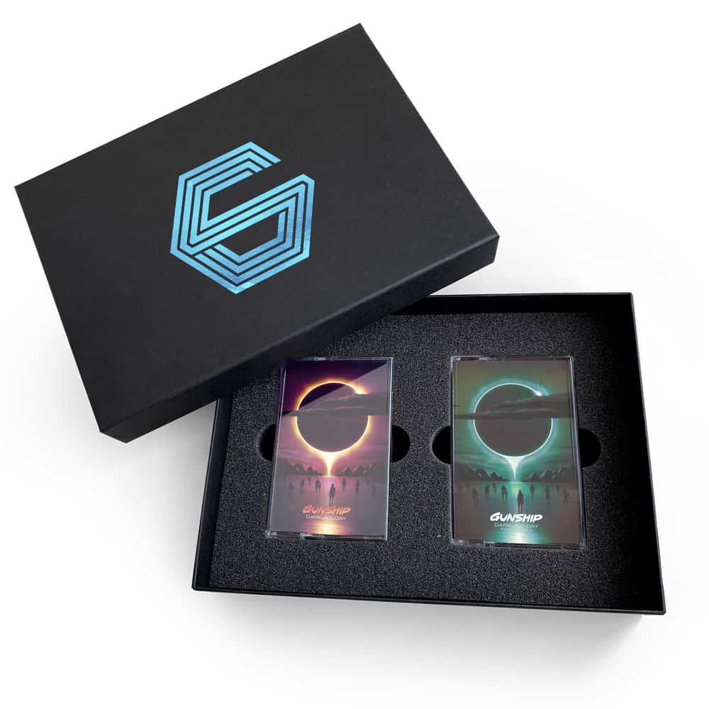 Buy Online GUNSHIP - Dark All Day Cassette Box Set