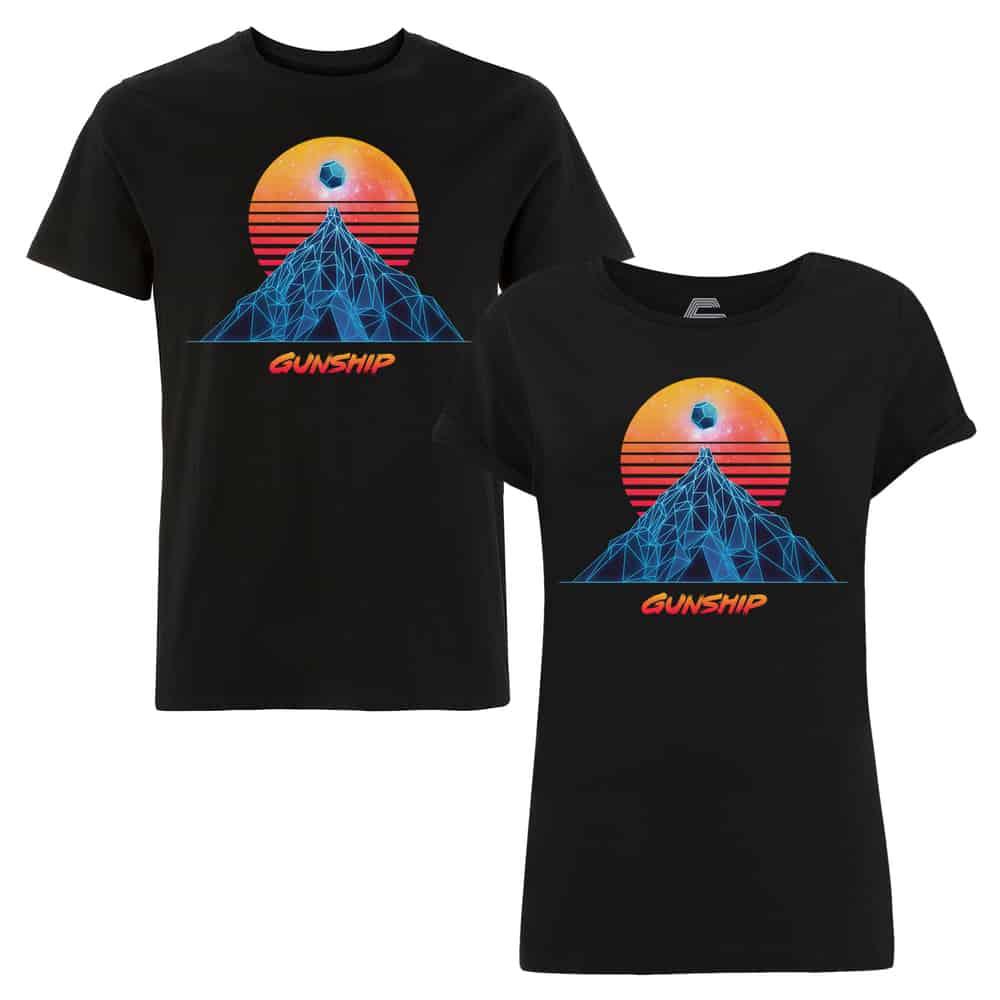 Buy Online GUNSHIP - Sun & Mountain Classic T-Shirt