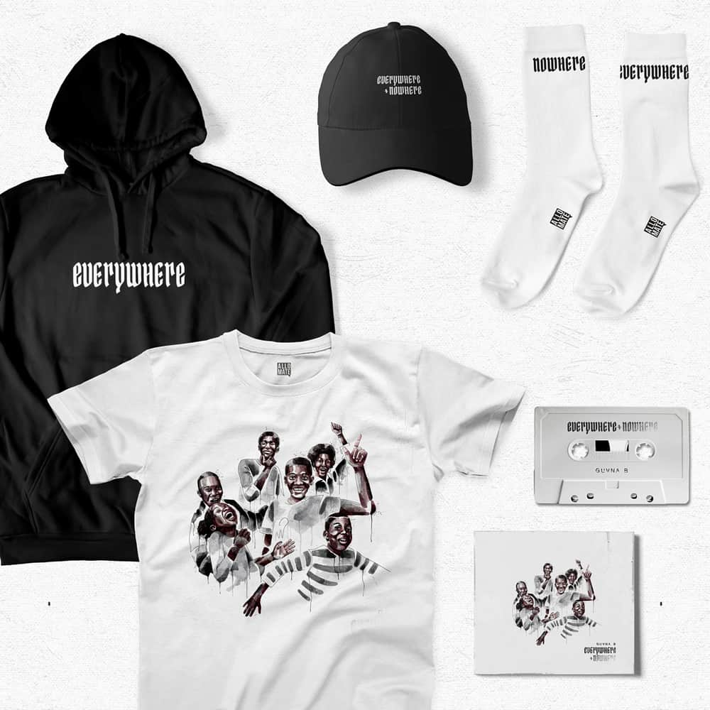 Buy Online Guvna B - everywhere + nowhere complete bundle