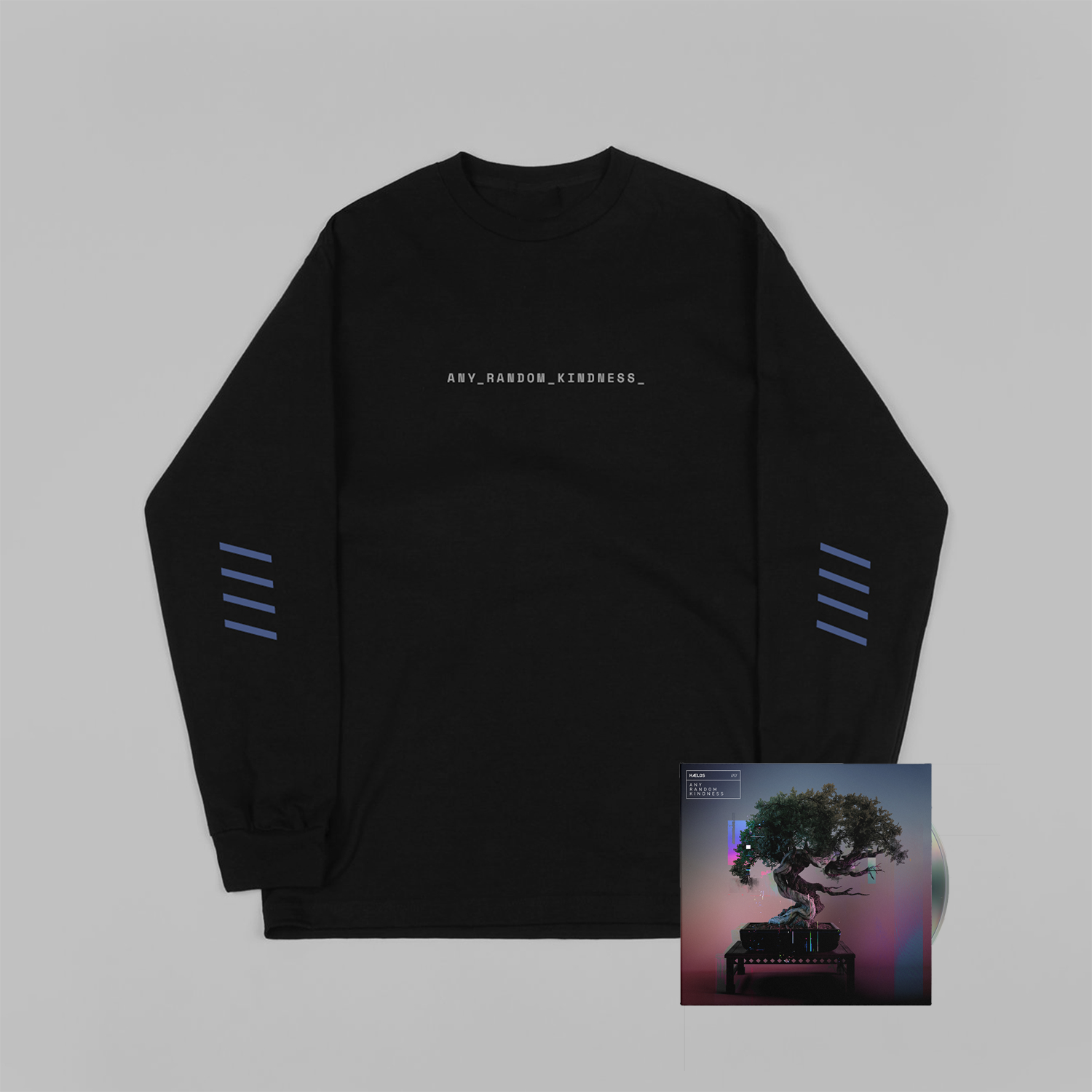 Buy Online Haelos - Any Random Kindness CD + T-Shirt
