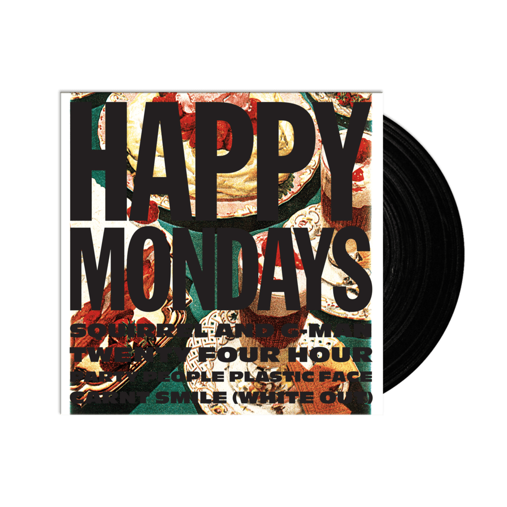 Buy Online Happy Mondays - Squirrel and G-Man Twenty Four Hour Party People Plastic Face Carnt Smile (White Out)