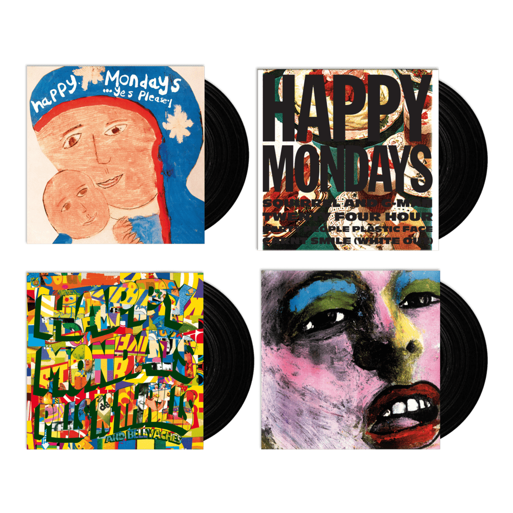 Buy Online Happy Mondays - Happy Mondays Vinyl Album Bundle