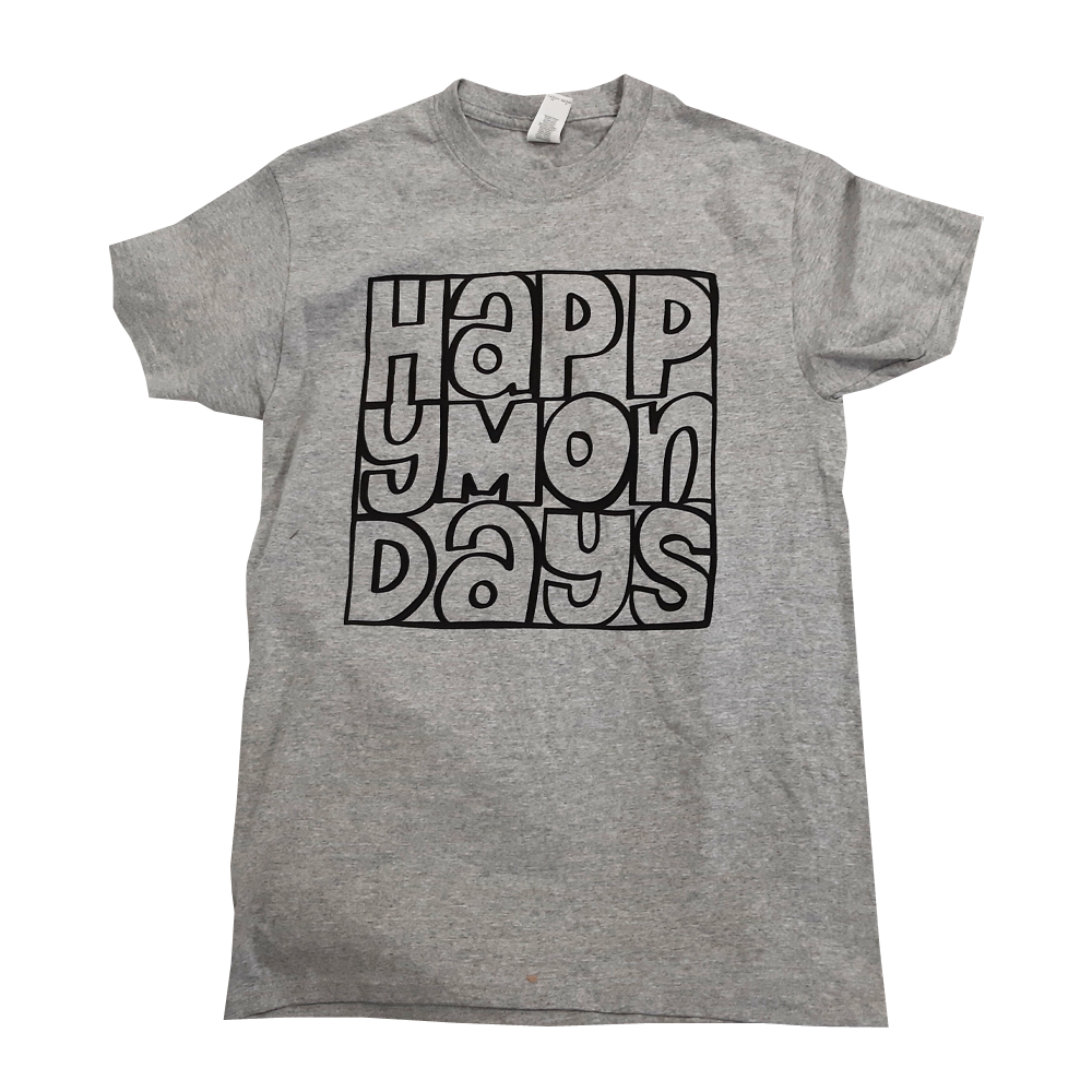 Buy Online Happy Mondays - Mono Logo T-Shirt