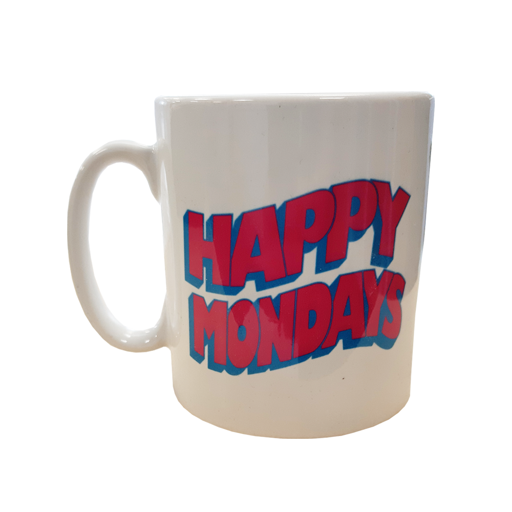 Buy Online Happy Mondays - Wavey Logo Mug