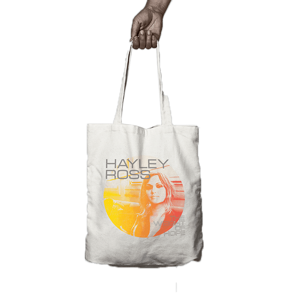 Buy Online Hayley Ross - The Weight Of Hope Tote Bag