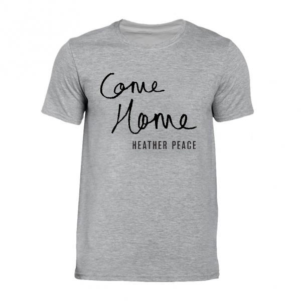 Buy Online Heather Peace - Grey Come Home T-Shirt