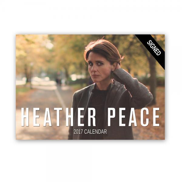 Buy Online Heather Peace - Signed 2017 Calendar