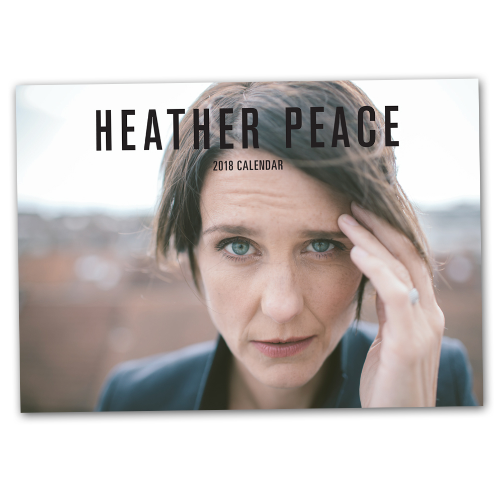 Buy Online Heather Peace - 2018 Calendar (Signed) + Exclusive A4 Print