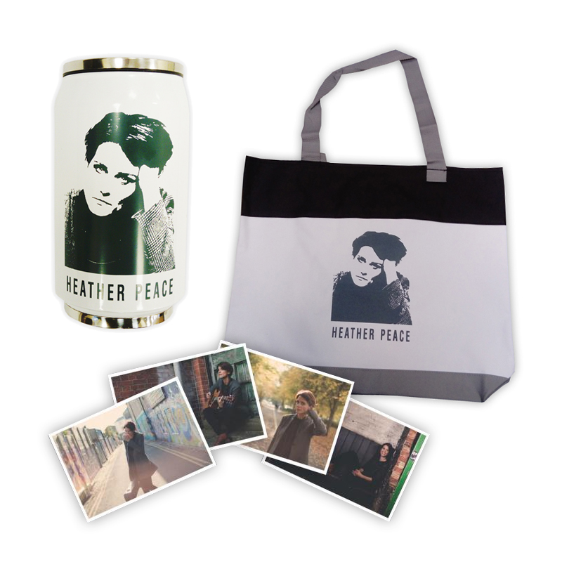 Buy Online Heather Peace - Tote Bag + Flask + Signed Photos