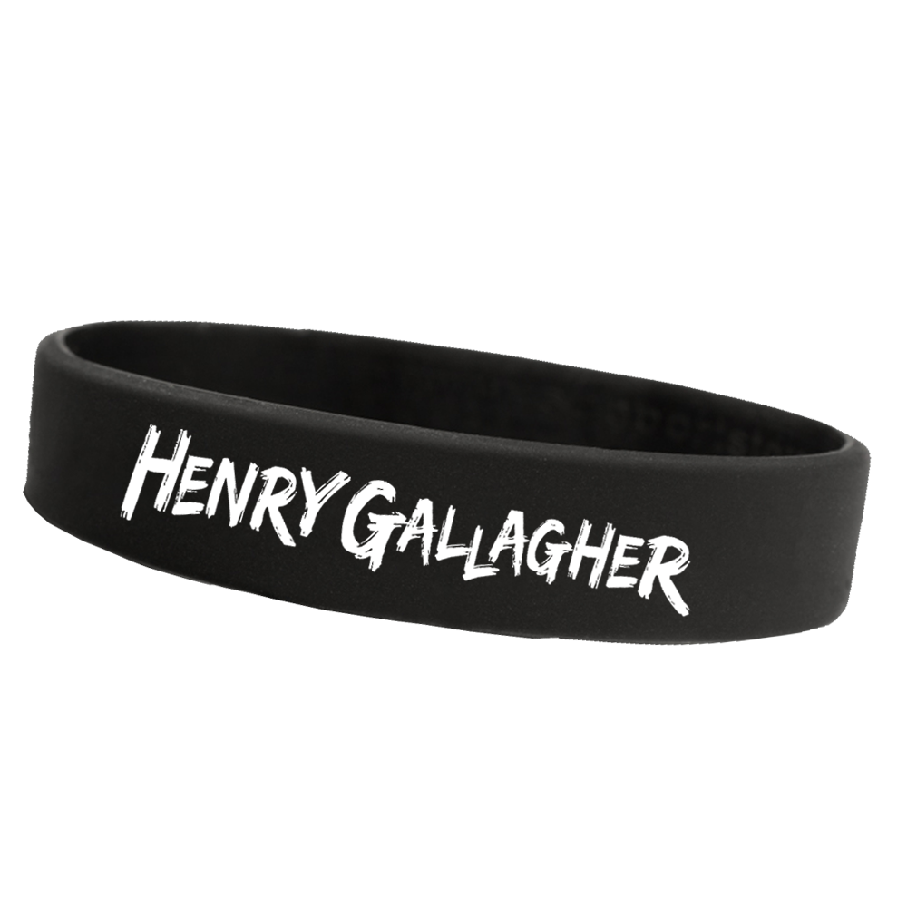 Buy Online Henry Gallagher - Black Wristband