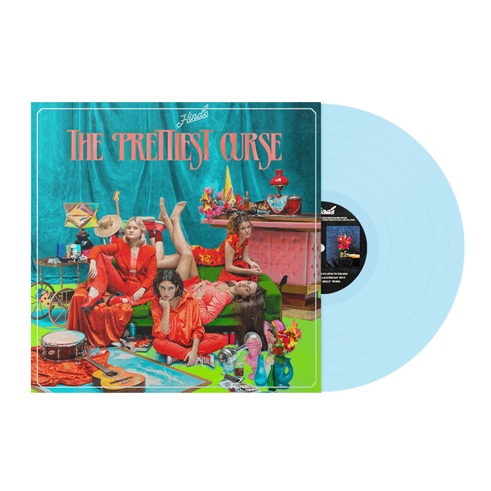 Buy Online Hinds - The Prettiest Curse Light Blue Vinyl