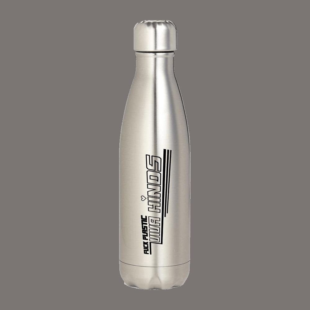Hinds 'Fuck Plastic' Water Bottle
