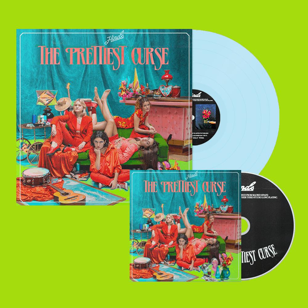 The Prettiest Curse Light Blue Vinyl + CD Album
