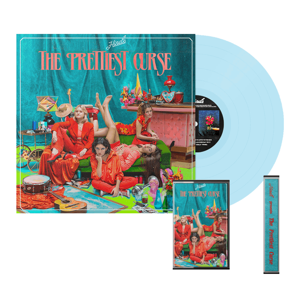 Buy Online Hinds - The Prettiest Curse Light Blue Vinyl + Cassette