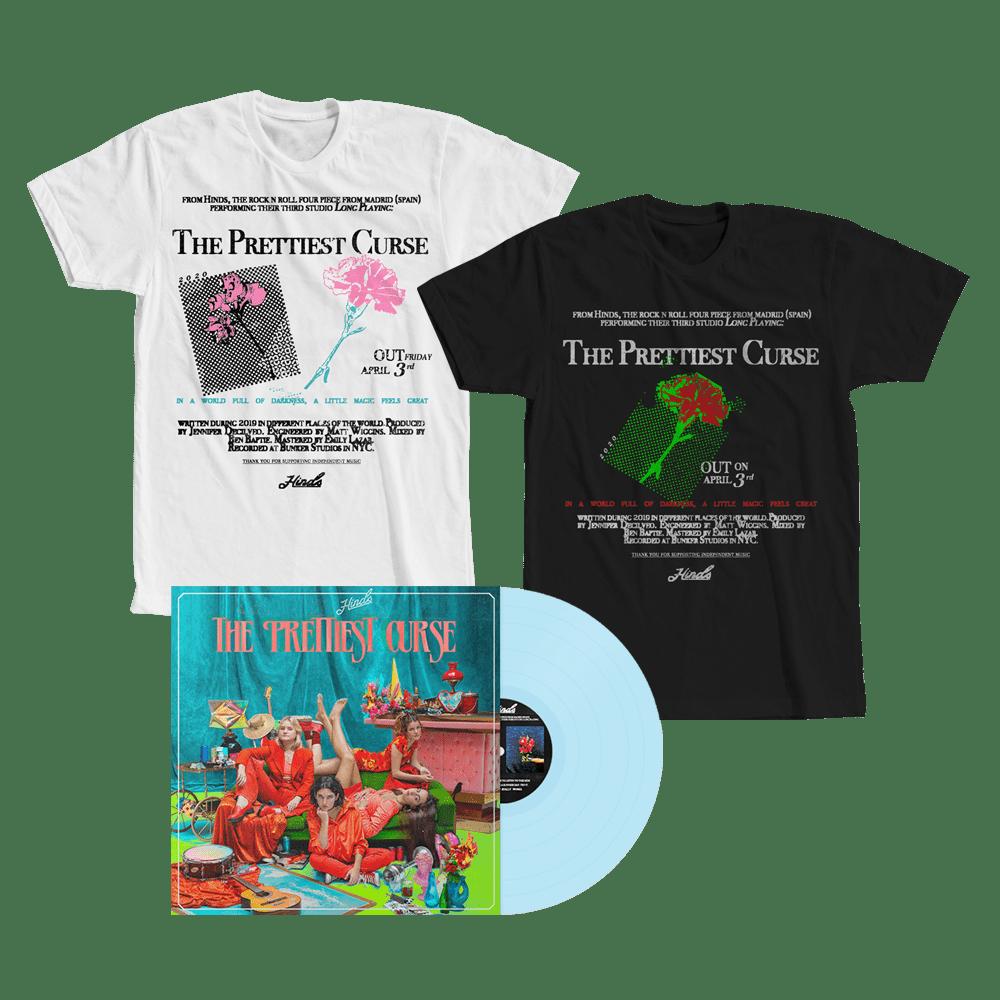 The Prettiest Curse Light Blue Vinyl + T-Shirt