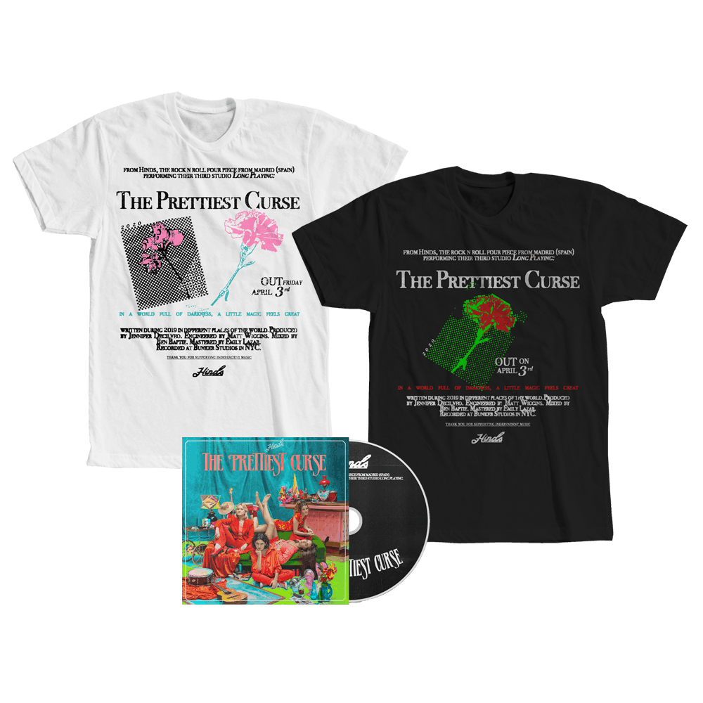 The Prettiest Curse CD Album + T-Shirt