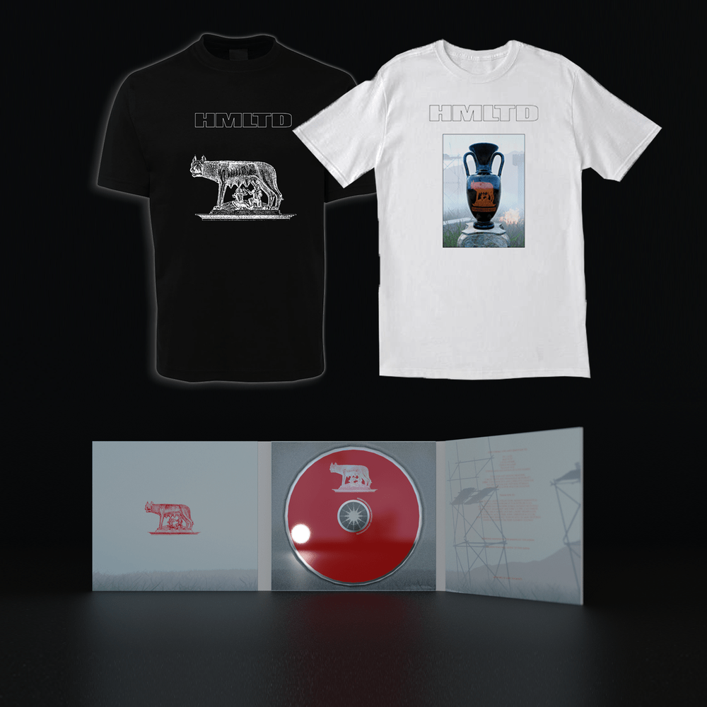 Buy Online HMLTD - CD + T-Shirt Choice + A4 Art Print