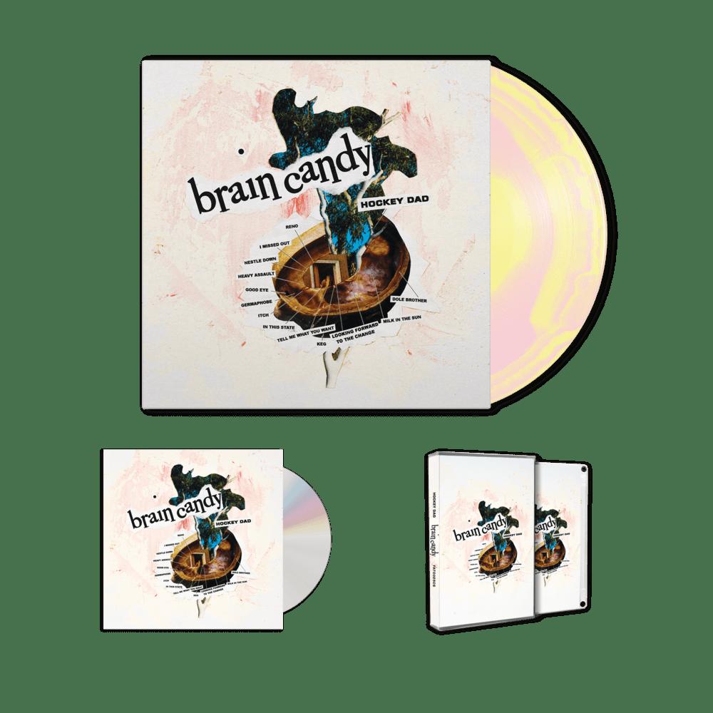 Hockey Dad Brain Candy Swirl Vinyl Cd Cassette Tm Stores