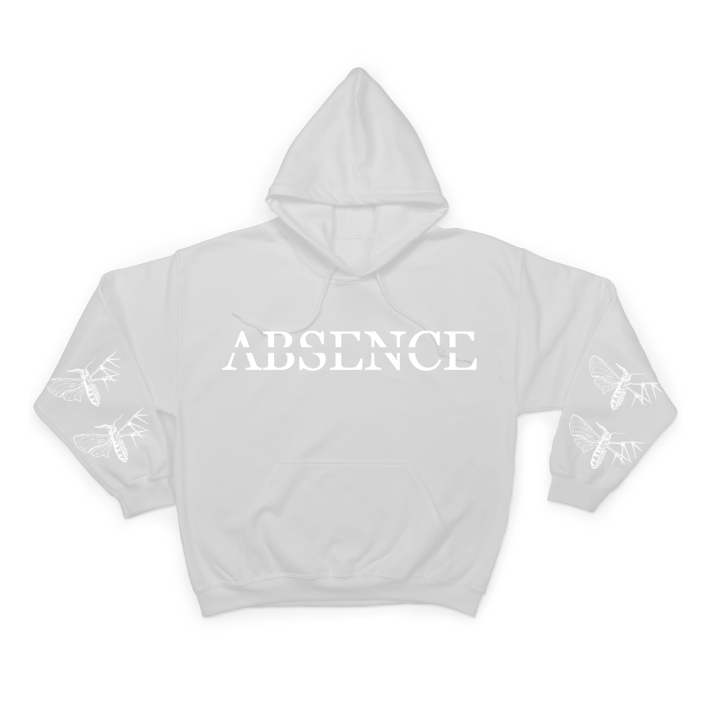Buy Online Holding Absence - Absence White Hoody