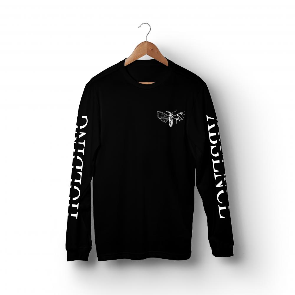 Buy Online Holding Absence - Pocket Print Long Sleeve T-Shirt