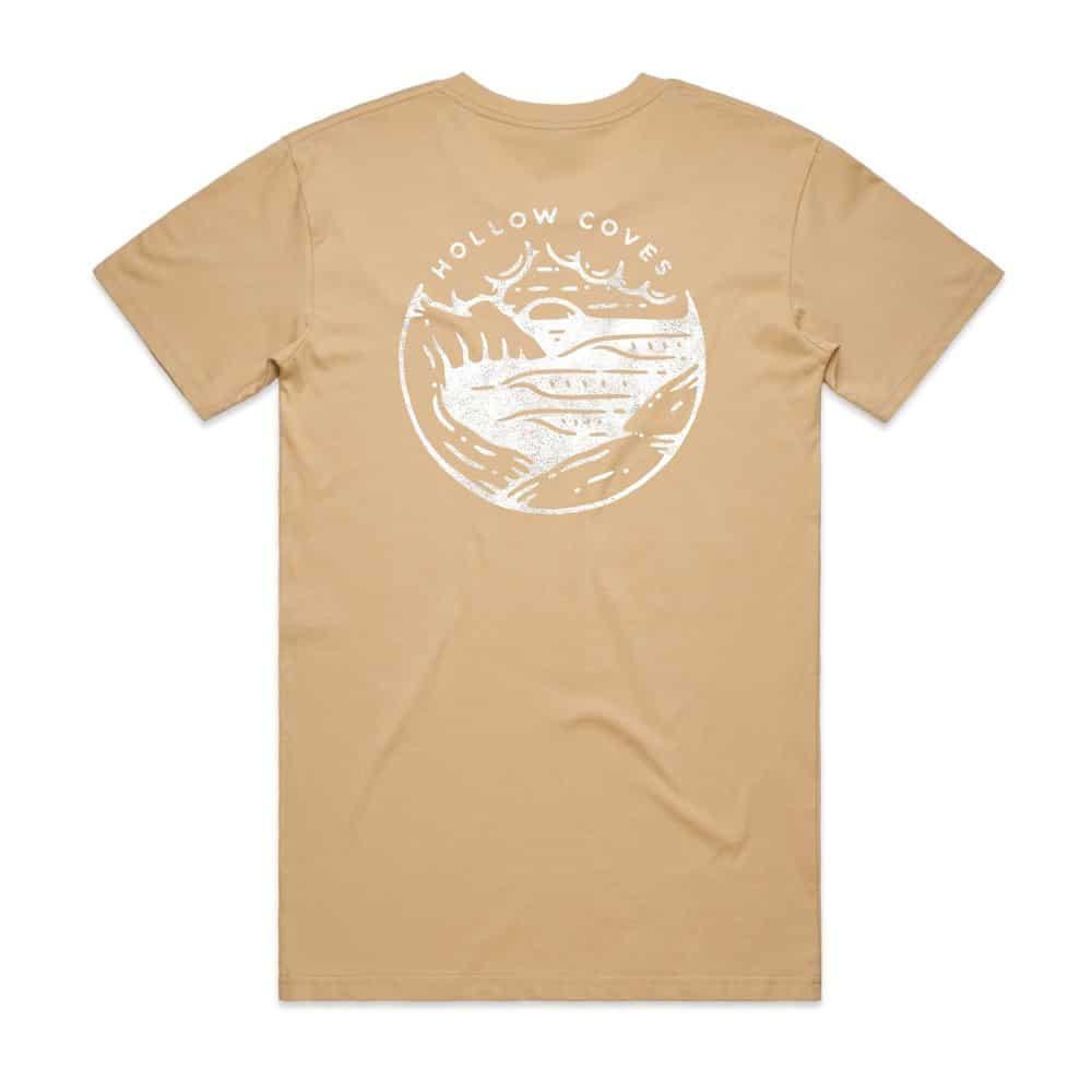 Buy Online Hollow Coves - Tan T-Shirt