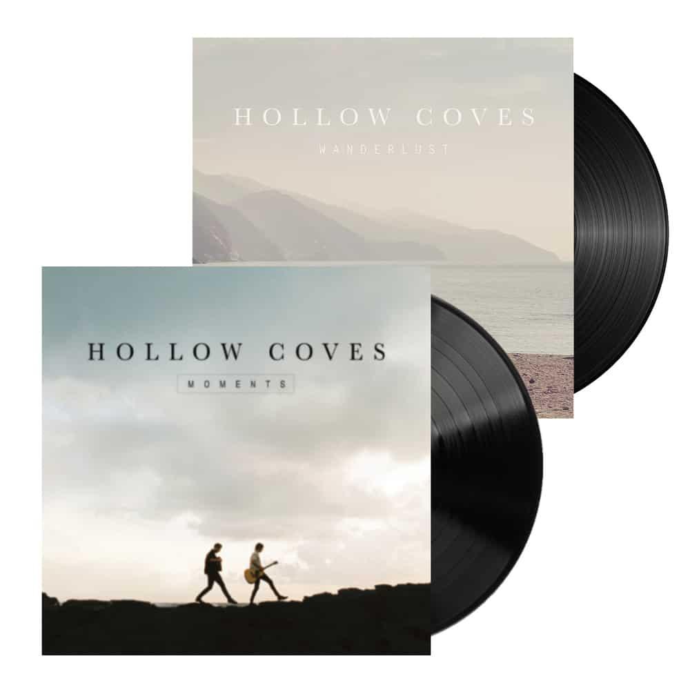Buy Online Hollow Coves - Moments Vinyl + Wanderlust EP Vinyl