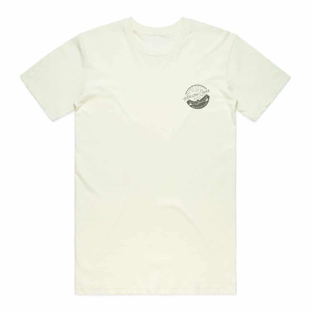 Buy Online Hollow Coves - Wanderlust Off-White Logo T-Shirt