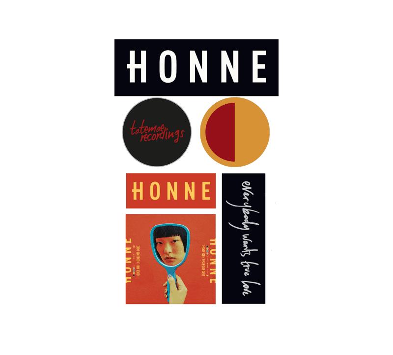 Buy Online Honne - HONNE Stickers