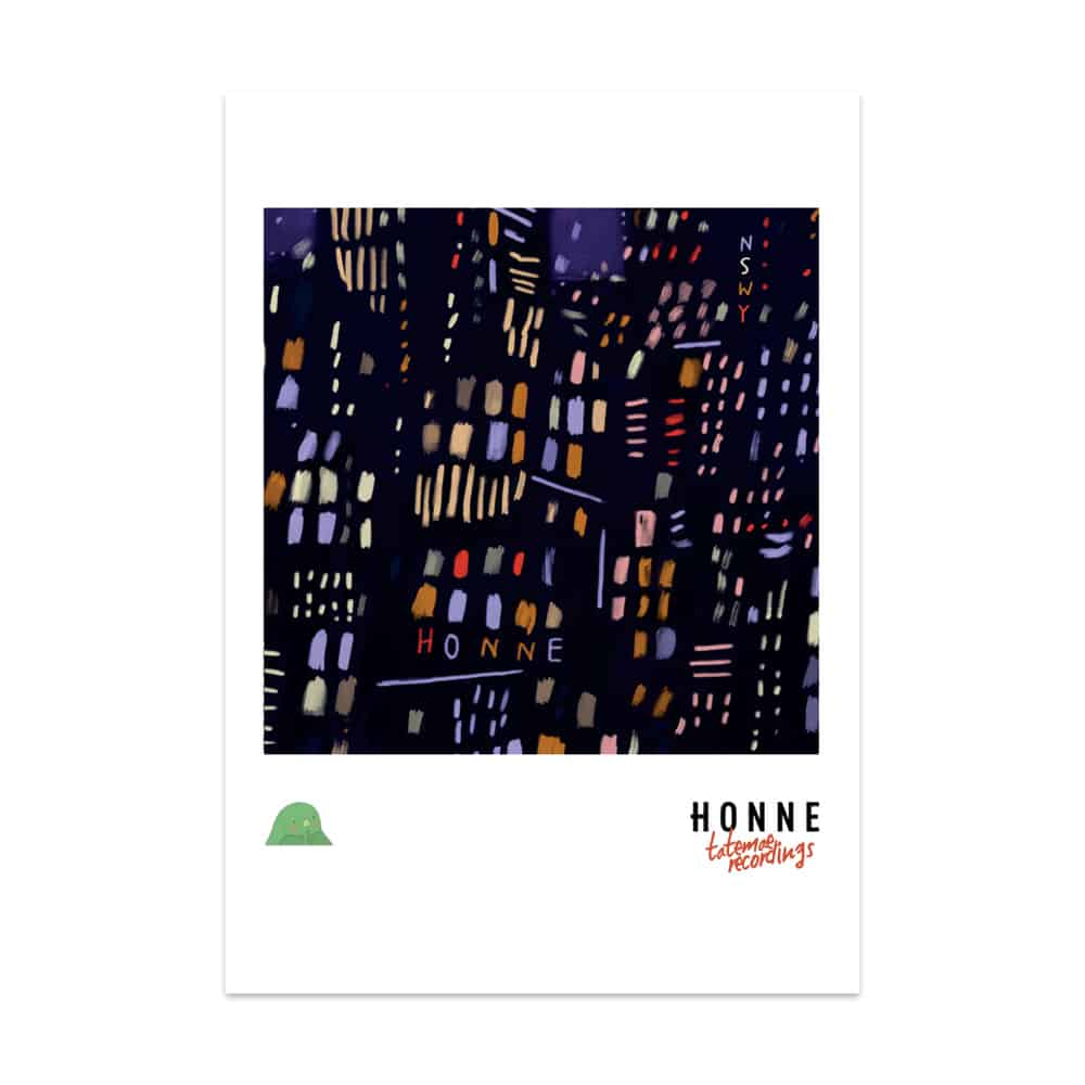 Buy Online HONNE - Limited NSWY Poster