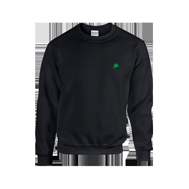 Buy Online Honne - Limited Goo Black Sweatshirt