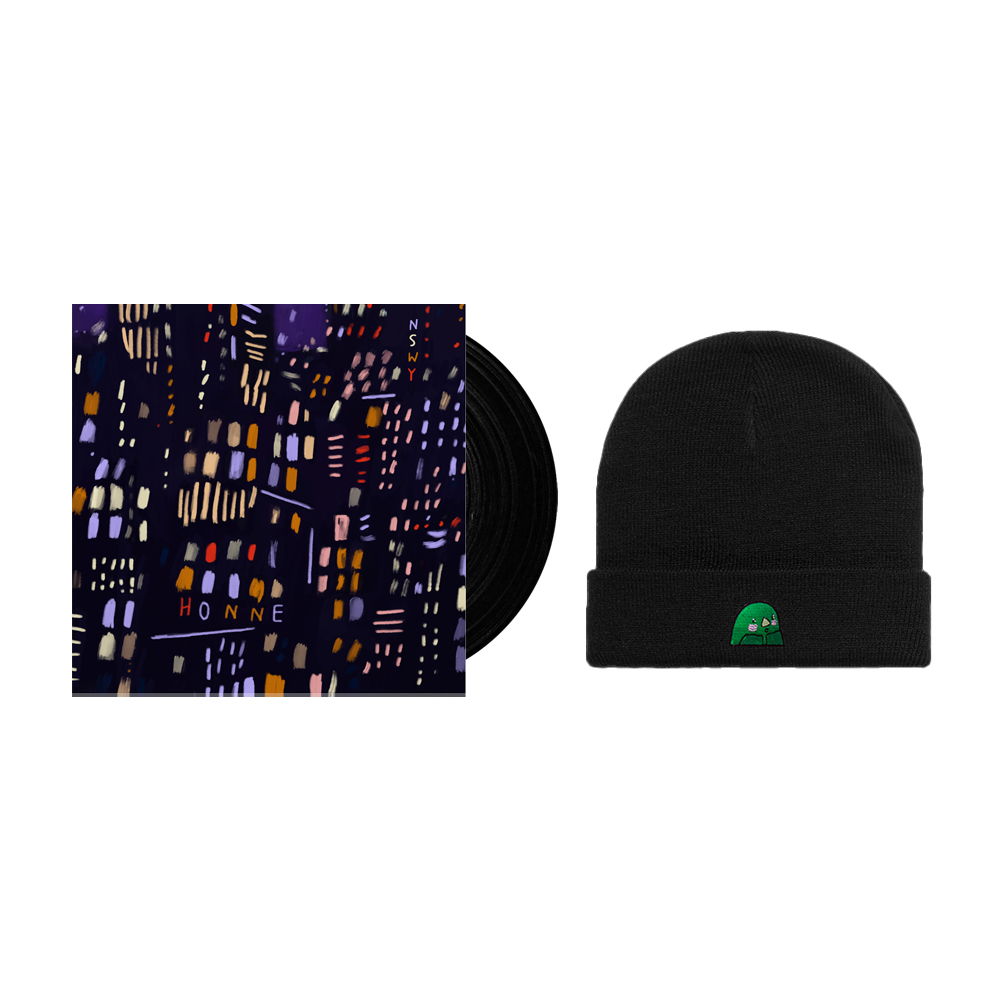 Buy Online HONNE - No Song Without You Vinyl + Limited Goo Black Beanie