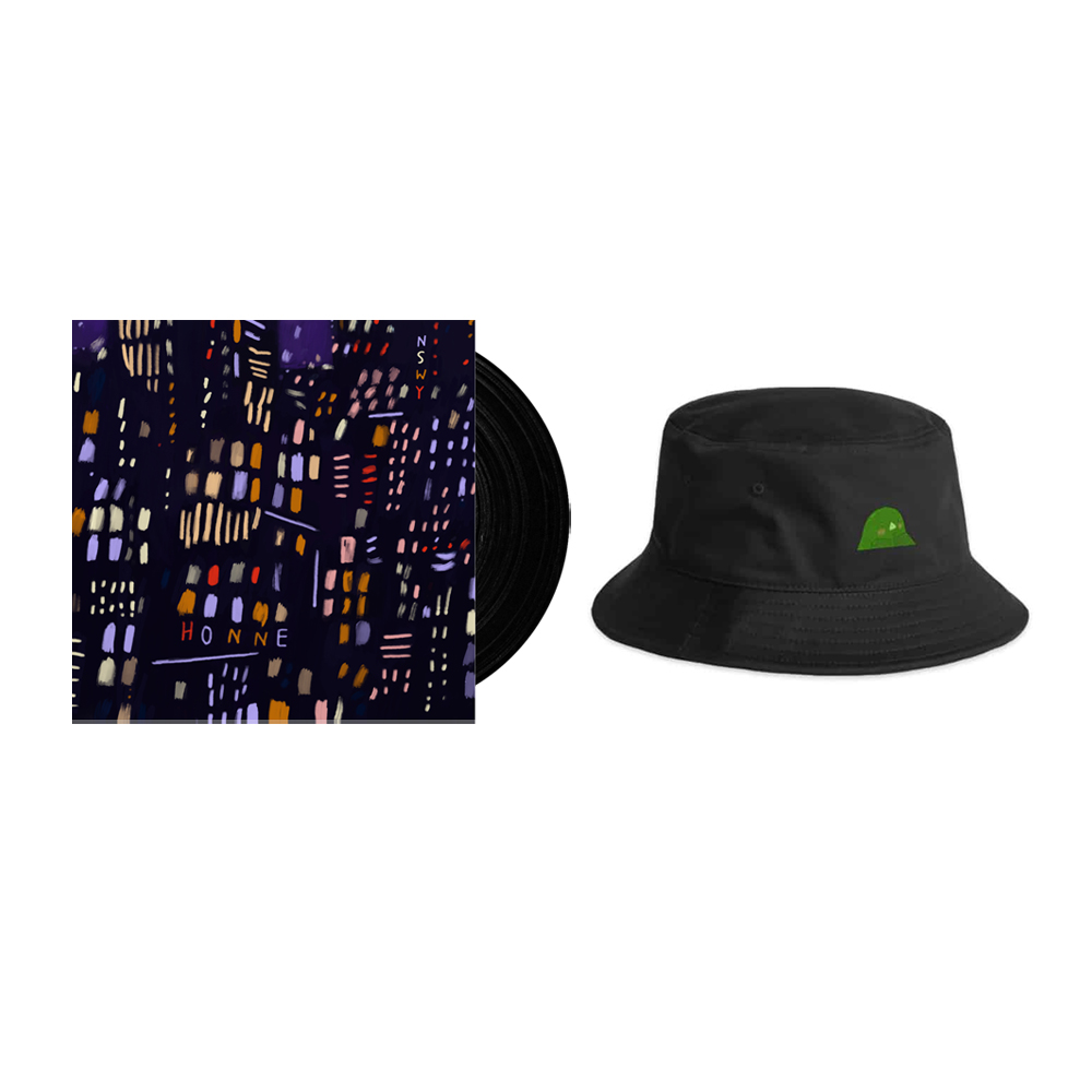 Buy Online HONNE - No Song Without You Vinyl + Limited Goo Patch Bucket Hat