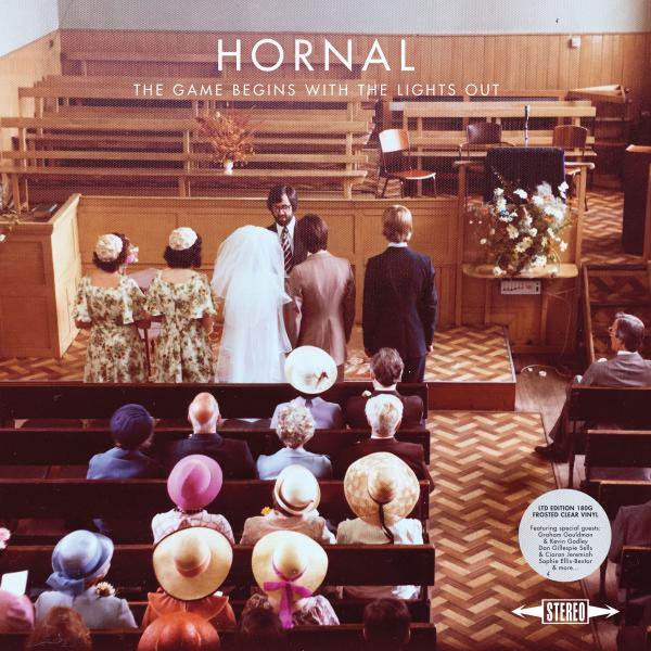 Buy Online Hornal - The Game Begins With The Lights Out Ltd Edition Frosted Clear Vinyl LP (Signed)